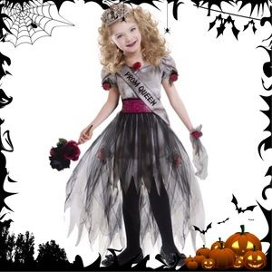 Other - NWT Zombie Prom Queen Girl's Halloween Costume